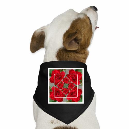 Rose Design - Hunde-Bandana