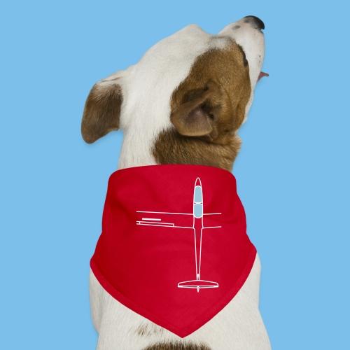 Segelflugzeug von oben Segelflieger gleiten - Hunde-Bandana