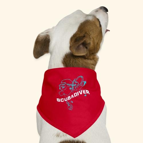 ScubaDiverShirt001 - Honden-bandana