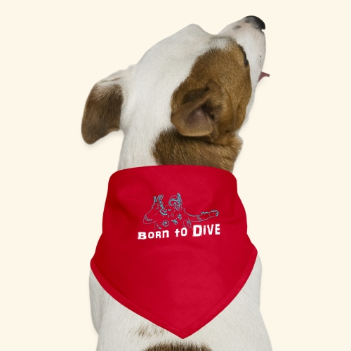 ScubaBornToDive001 - Honden-bandana