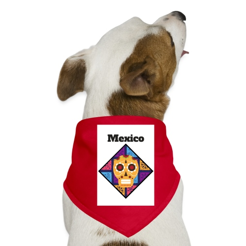 Mexico Calavera - Pañuelo bandana para perro