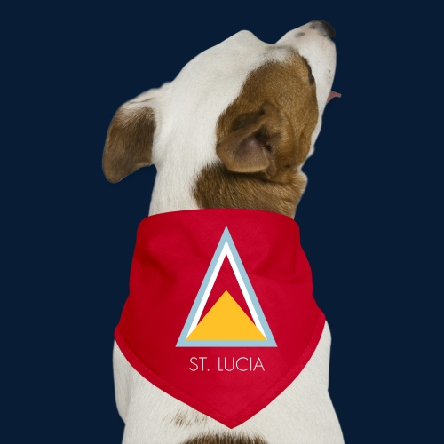 St. Lucia - Hunde-Bandana