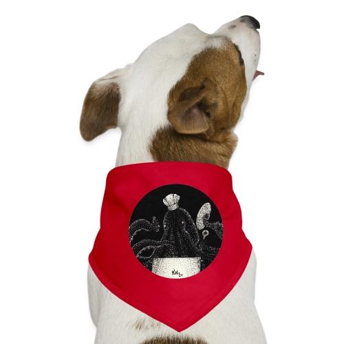 Octo - chef (Pulpo - cinero) - Pañuelo bandana para perro