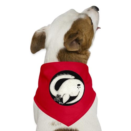Nessie Durmiente (Monstruo del lago Ness) - Pañuelo bandana para perro