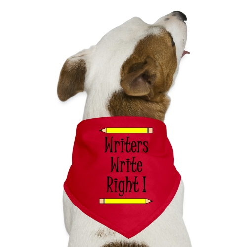Writers Write Right - Dog Bandana