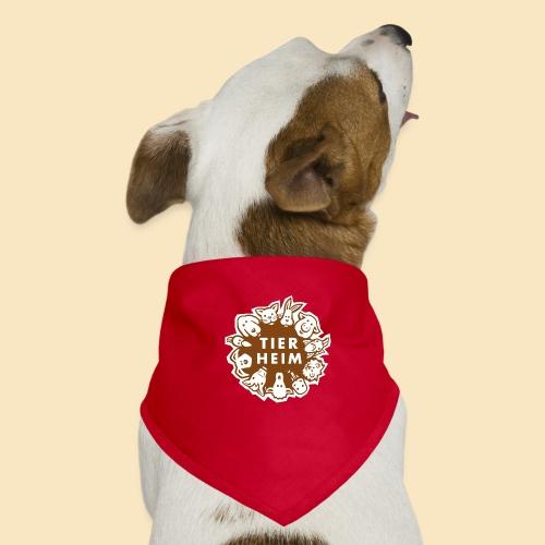 Tierheim Logo braunweiss - Hunde-Bandana
