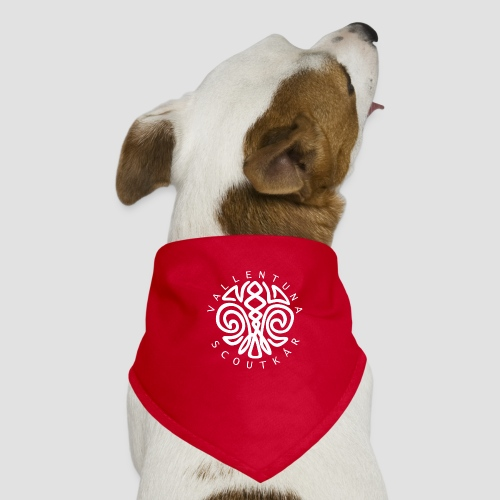 Logga vit - Hundsnusnäsduk