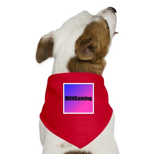 Merch mit Logo von DittlGaming - Hunde-Bandana
