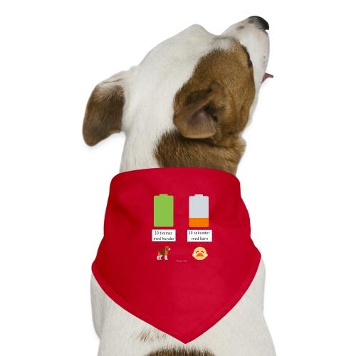 Livsbatteriet HUND - Hundsnusnäsduk