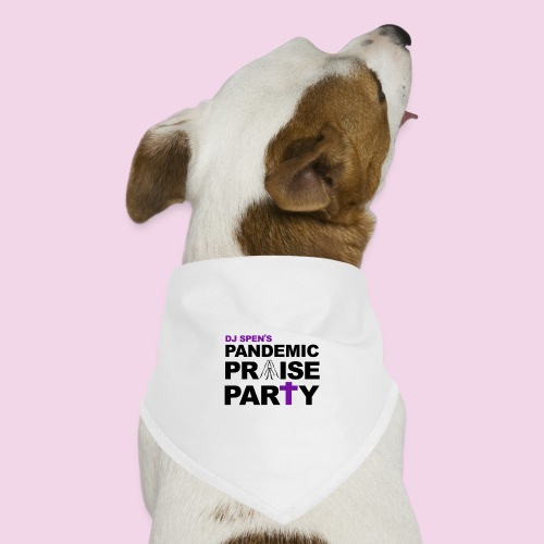 Pandemic Praise Party Logo - Dog Bandana