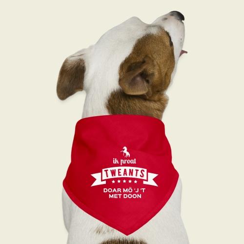 Ik proat Tweants...(lichte tekst) - Honden-bandana