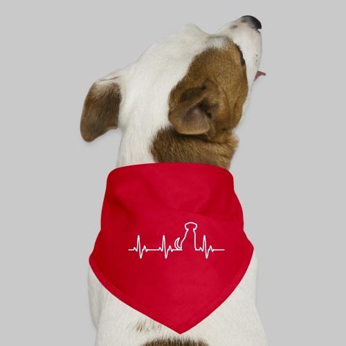 Hunde Herz - Hunde-Bandana