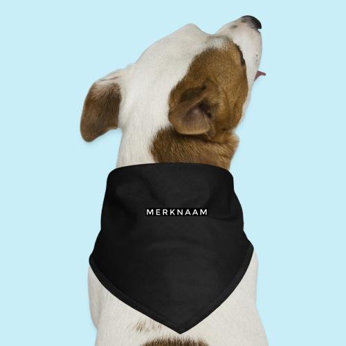 marque - Bandana pour chien