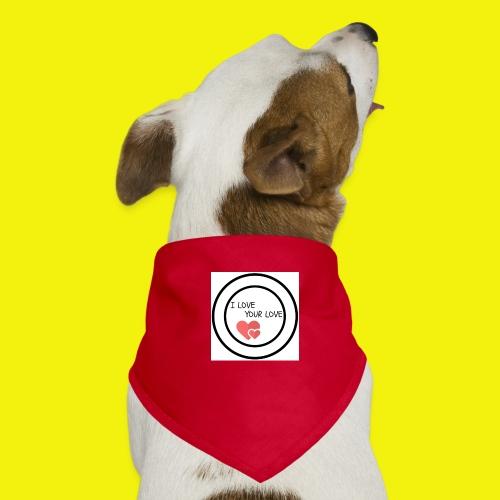 1We are having a baby girl - Pañuelo bandana para perro