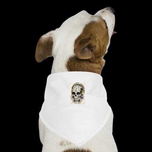 ab7a6a89ac2078fff2dd245fb15abaaf skull tattoo des - Honden-bandana