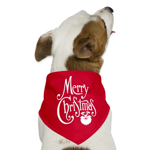 Merry Christmas - Dog Bandana