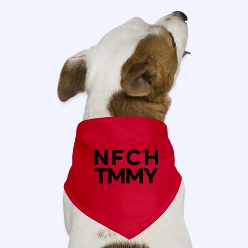 Einfach Tommy / NFCHTMMY / Black Font - Hunde-Bandana