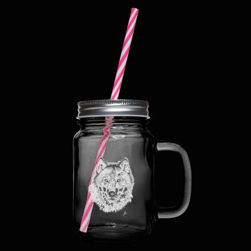 Wolf - Drikkekrus med skruelåg