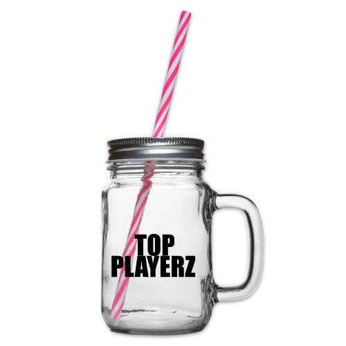 TopPlayer - Boccale con coperchio avvitabile