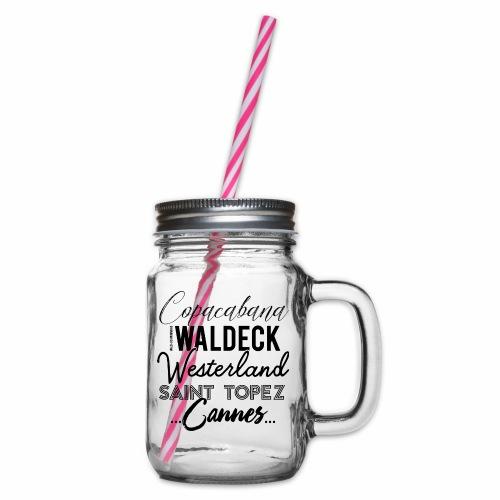 Waldeck - Henkelglas mit Schraubdeckel