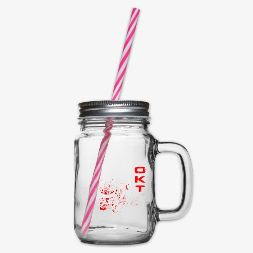 Outkasts Scum OKT Front - Glass jar with handle and screw cap