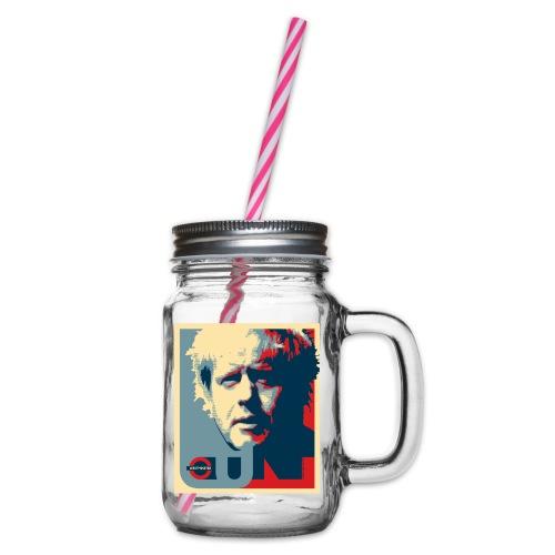 Boris: Westminster - Glass jar with handle and screw cap
