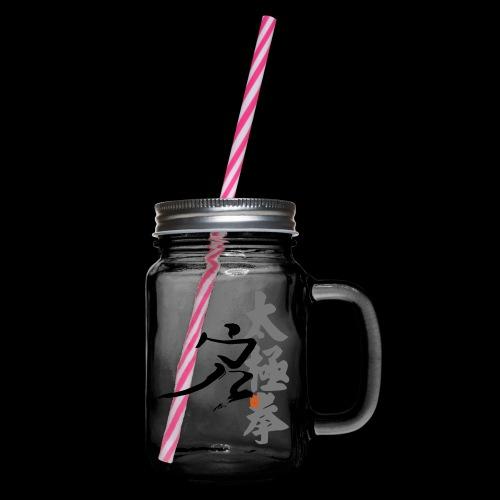 taiji danbian - Henkelglas mit Schraubdeckel