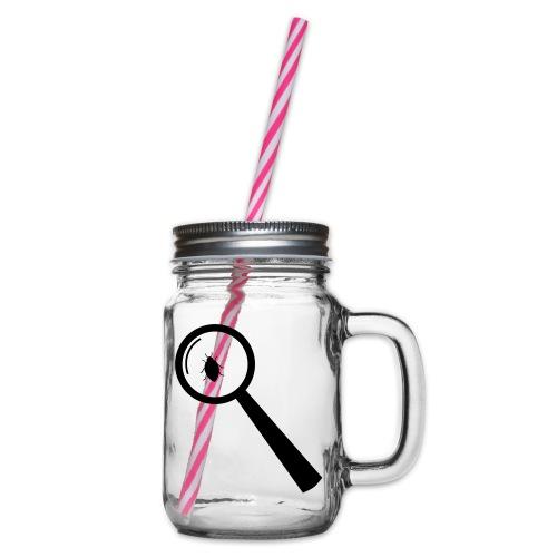 Bug Lupe - Henkelglas mit Schraubdeckel
