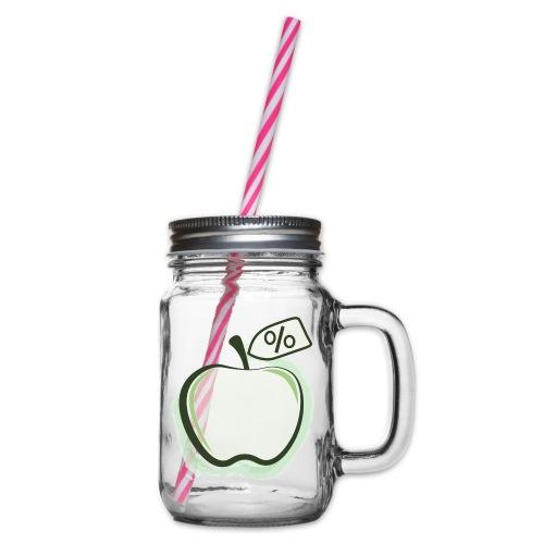 Sund på budget logo - Drikkekrus med skruelåg