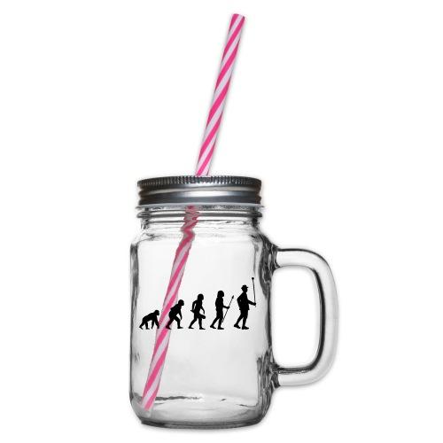 Stabführer Evolution - Henkelglas mit Schraubdeckel