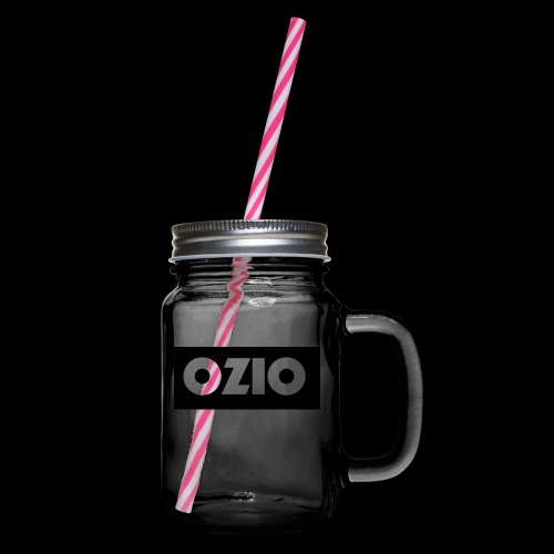 Ozio's Products - Glass jar with handle and screw cap