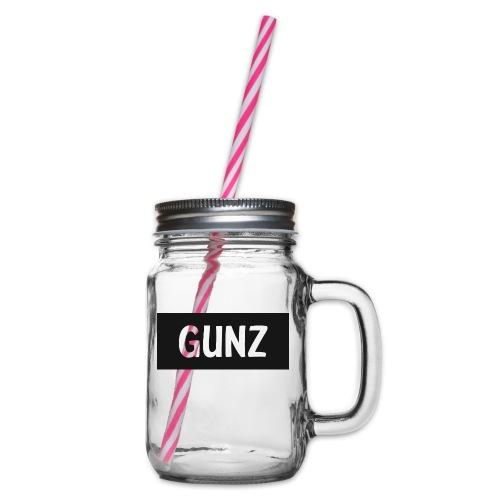 Gunz - Drikkekrus med skruelåg