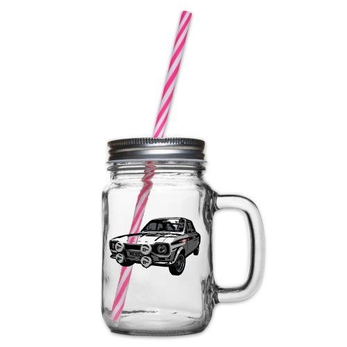 Mk1 Escort - Glass jar with handle and screw cap