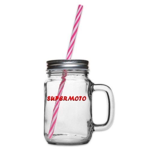 SupermotoLuvan - Glas med handtag och skruvlock