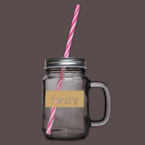 farcryclothing - Henkelglas mit Schraubdeckel