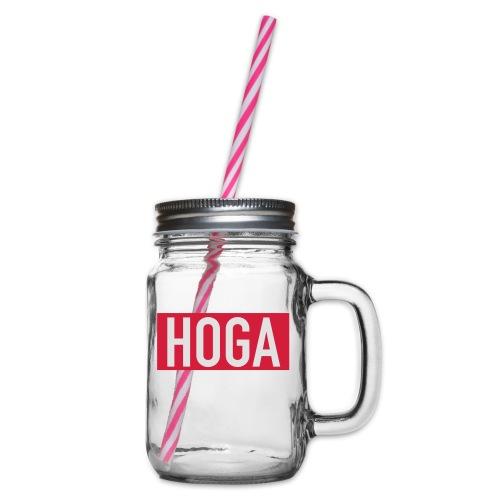 HOGAREDBOX - Glass med hank og skrulokk