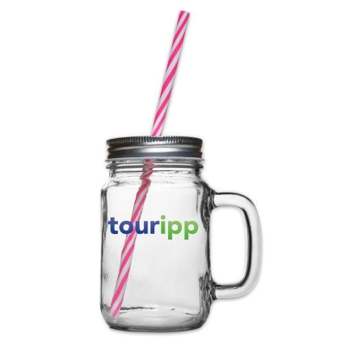 Touripp - Boccale con coperchio avvitabile