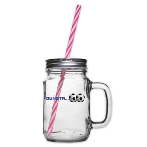 dunstaballs - Glass jar with handle and screw cap