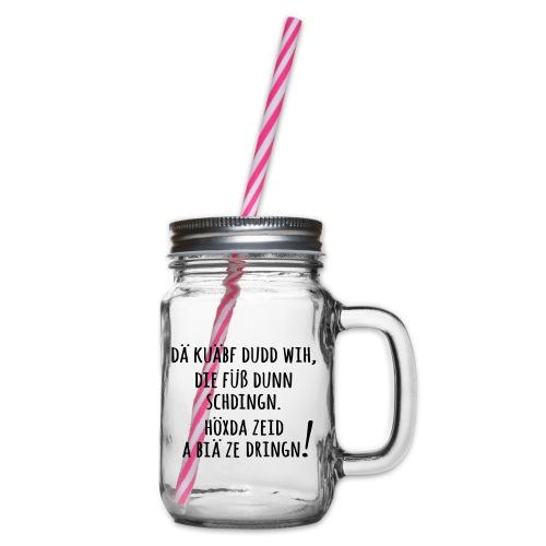 Höxda Zeid - Henkelglas mit Schraubdeckel