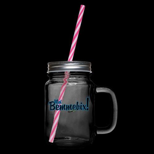 bemmebix - Henkelglas mit Schraubdeckel