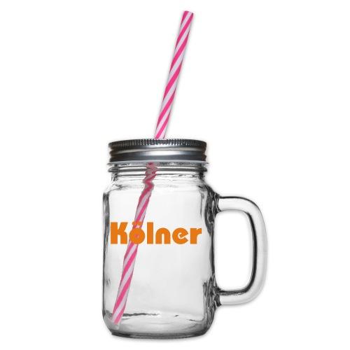 Kölner - Henkelglas mit Schraubdeckel