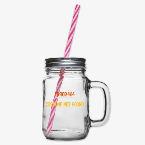 Error 404 Costume Not Found patjila_2014 - Glass jar with handle and screw cap