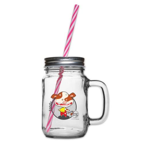 FF FADE 02 - Henkelglas mit Schraubdeckel