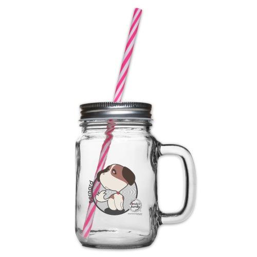 FF BERNARD 02 - Henkelglas mit Schraubdeckel