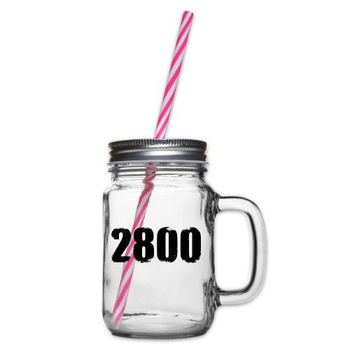 2800 - Drinkbeker met handvat en schroefdeksel