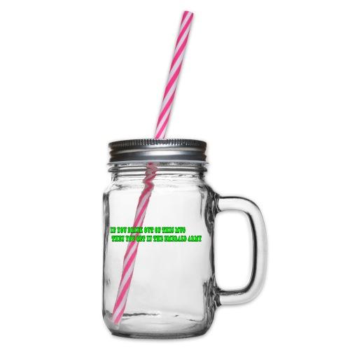 mug - Drinkbeker met handvat en schroefdeksel