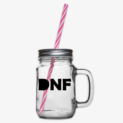 dnf - Henkelglas mit Schraubdeckel