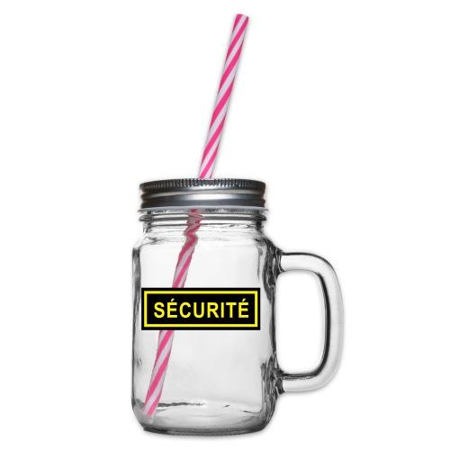 Ecusson Sécurité horiz2c - Bocal à boisson
