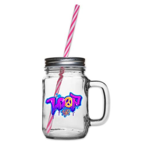 Look for Loop UP - Henkelglas mit Schraubdeckel