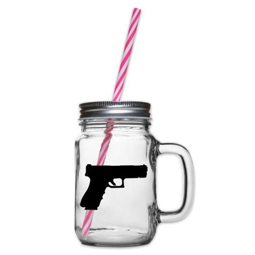 Pistol 88 C2 - Glock 17 Gen.3 - Glas med handtag och skruvlock